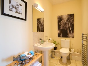 Bathroom of central serviced apartment