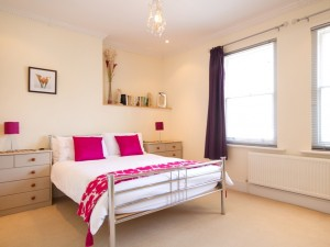 Bedroom in central serviced apartment