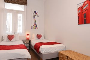 Furnished apartments - twin bedroom