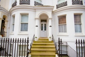 Grade II-listed Regency apartment in Eastbourne
