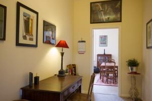 Hallway in short term accommodation