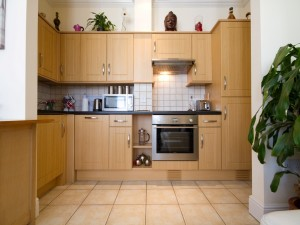 Kitchen in central serviced apartment
