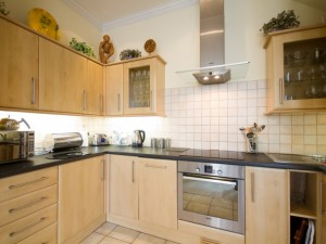 Kitchen in furnished apartment for rent
