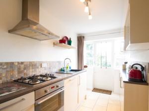 Kitchen in short term accommodation