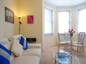 Lounge in central serviced apartment