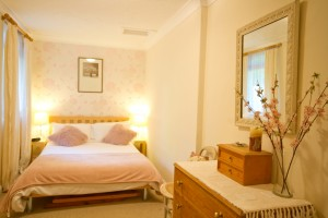Double bedroom of furnished accommodation
