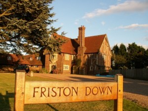 Friston Down Country Cottage with swimming pool