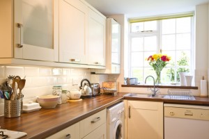 Kitchen in furnished accommodation