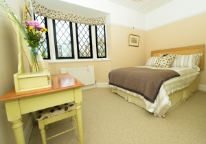 Double bedroom of this serviced apartment