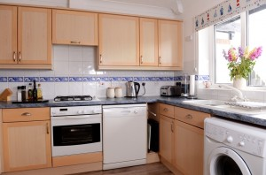 Short term house rental kitchen