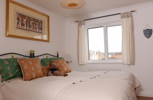 Master bedroom in short term house rental