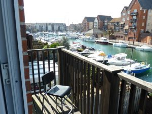 Water views in this short stay accommodation for families