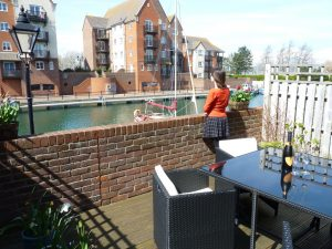 Short stay accommodation for families - water views