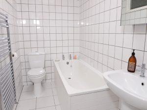 Bathroom of beach cottage