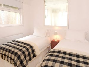 Twin room of beach cottage