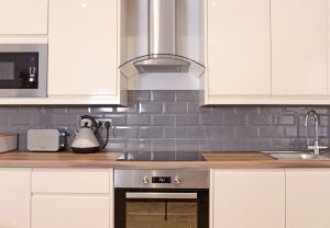 Kitchen of serviced apartments Eastbourne