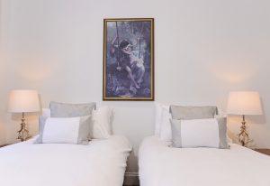 1st floor flat twin bedroom