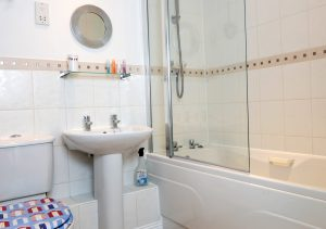Bathroom in short stay accommodation