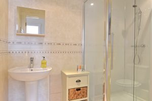 Shower room of serviced flat