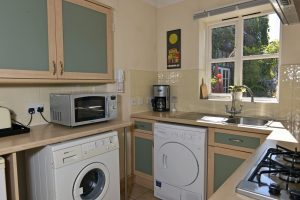 Kitchen in this short stay cottage