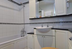 Bathroom in this short stay cottage