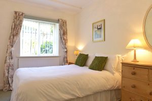 Bedroom in this short stay cottage